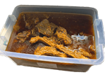 Original Ayamase Stew with 40 pieces of assorted meat.